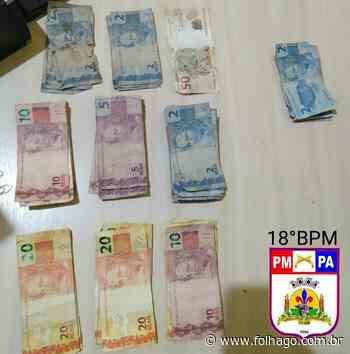 Polícia Militar prende suspeito de roubo em estabelecimento comercial de Monte Alegre - FolhaGO