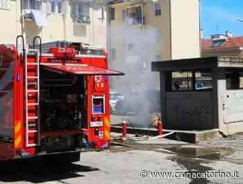 Garage in fiamme Orbassano, intervenuti Vigili del Fuoco e Carabinieri - Notizie Torino - Cronaca Torino