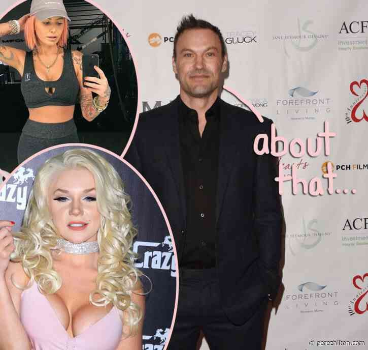 Brian Austin Green Addresses Hot Tub Video With Courtney Stodden AND His Date With Tina Louise!