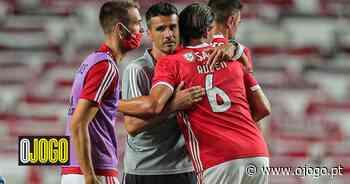 """Qual o """"prazo"""" de Veríssimo ao leme do Benfica? """"Sinceramente não sei"""", diz o próprio - O Jogo"""