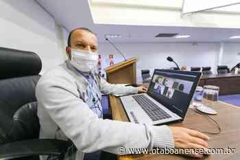 Vereador Carlinhos do Leme tem lei aprovada que obriga Sabesp fornecer e instalar válvulas de retenção de ar em Taboão - Portal O Taboanense
