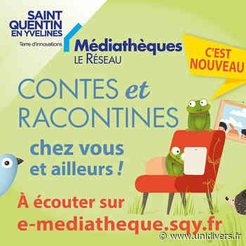 Roulé le loup ! / Raconte-tapis Réseau des médiathèques mercredi 1 juillet 2020 - Unidivers