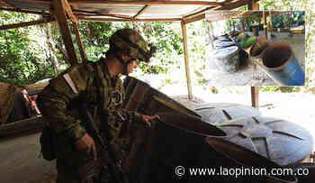 Desmanteladas dos estructuras ilegales en Tibú y El Tarra - La Opinión Cúcuta