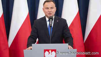 Präsidentenwahl in Polen: Favorit verpasst absolute Mehrheit – Andrzej Duda muss in die Stichwahl - Handelsblatt