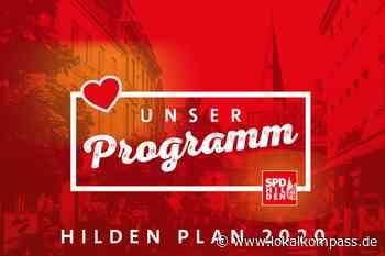 """Einstieg in den Straßenwahlkampf: SPD stellt """"Hilden-Plan"""" vor - Hilden - Lokalkompass.de"""