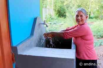 San Martín: más de 1000 pobladores de Alto Saposoa accederán a servicio de agua potable - Agencia Andina