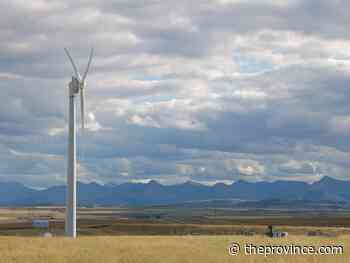 Two new Pincher Creek wind farms come online - The Province