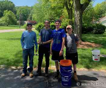 A 14-year-old entrepreneur with a lawn business is giving back to his community - nj.com