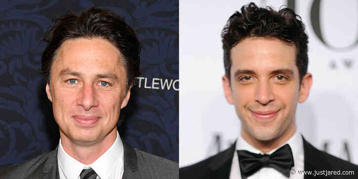 Zach Braff Mourns Nick Cordero, Reveals the Final Text He Received From Him