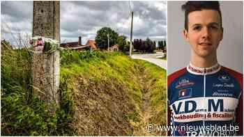 """Gedenkplaat voor betreurde wielrenner Niels de Vriendt: """"Een plaats van rust creëren"""""""