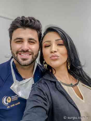 Jenny Miranda vai a Belo Horizonte para mais uma sessão de harmonização facial - Surgiu