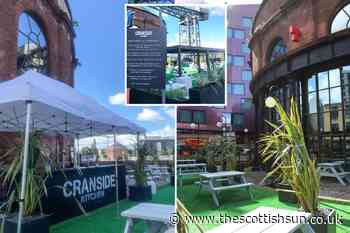 Coronavirus Scotland: First look inside Glasgow's new outdoor bar on River Clyde as beer gardens reopen - The Scottish Sun