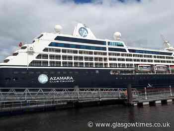 Third cruise ship Azamara Journey docks on River Clyde - Glasgow Times