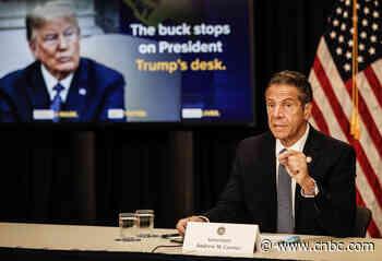 NY Gov. Cuomo says President Donald Trump is 'enabling' the coronavirus pandemic - CNBC