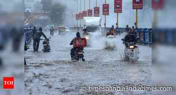 Heavy rain lashes Gujarat; flood situation improves in Assam