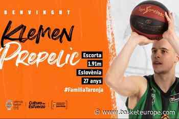 Espagne: Le Slovène Klemen Prepelic officiellement à Valence - BasketEurope.com