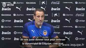 Voro, nouvel entraîneur de Valence : « C'est une fierté que le club pense à moi » - Foot - ESP - Valence - L'Équipe.fr