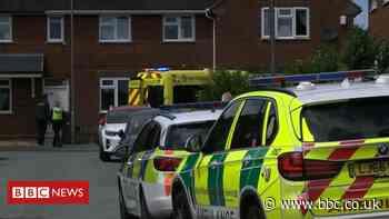 Two ambulance paramedics stabbed in Wolverhampton