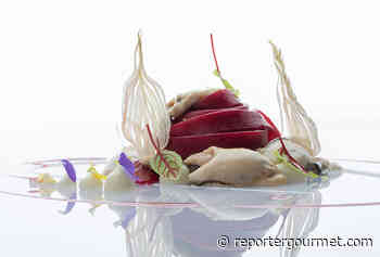 Ricetta fettucce di Gragnano in succo di barbabietola, cipollotto, ostriche Marie Morganes e lime | Chef Luigi Tramontano - Reporter Gourmet