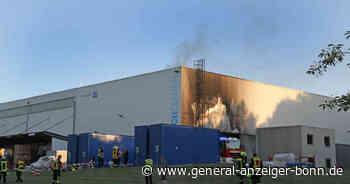 Feuerwehr-Einsatz bei Maschinenbaufirma in Sankt Augustin - General-Anzeiger