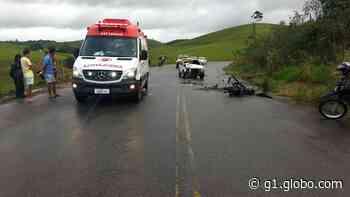 Duas pessoas ficam feridas em acidente na AL-105, em Porto Calvo - G1