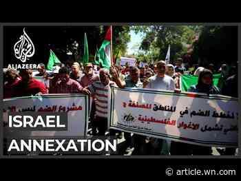 Hezbollah, Hamas blast Israel's annexation plans