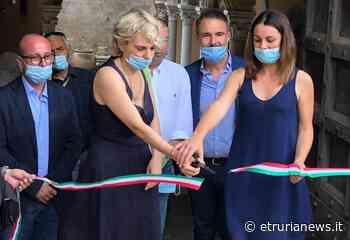 Museo Tarquinia, taglio del nastro per l'apertura della porta su piazza Soderini - Paolo Gianlorenzo