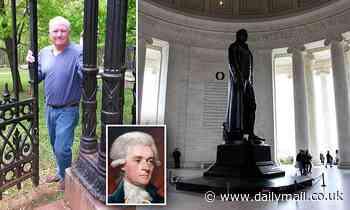Thomas Jefferson descendant says memorial SHOULD be taken down