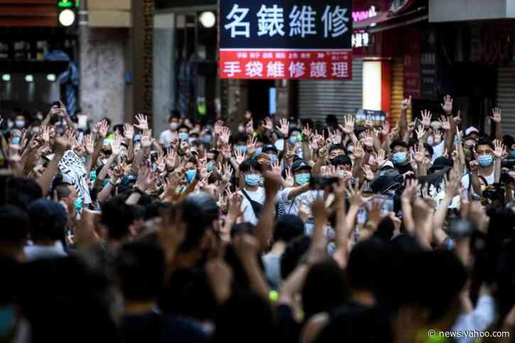 Hong Kong activist Joshua Wong calls for solidarity as books ordered removed