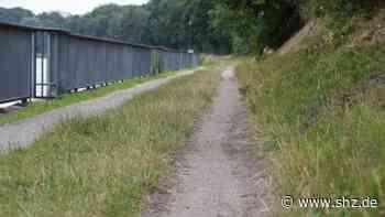 Glasfaserarbeiten: Betriebsweg des NOK am Minigolfplatz in Rendsburg ab Montag gesperrt | shz.de - shz.de