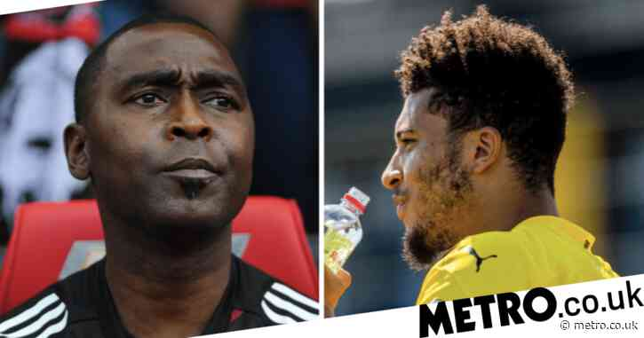Andy Cole approves Manchester United's summer transfer move for Jadon Sancho