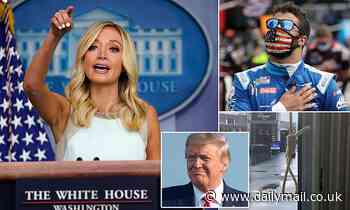 Kayleigh McEnany struggles to explain  Trump's demand that Bubba Watson 'apologize'