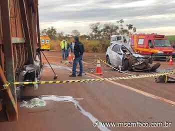 Vítimas de acidente em Nova Alvorada do Sul são reconhecidas - MS em Foco