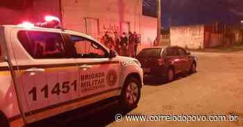 Polícia prende três homens com carro roubado em Alvorada - Jornal Correio do Povo
