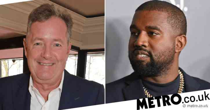 Piers Morgan begs 'deluded and narcissistic' Kanye West not to run for US presidency
