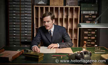 Endeavour's Shaun Evans confirms his future on the show