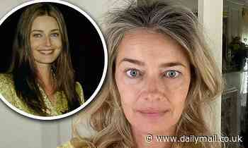Paulina Porizkova, 55, shares age-defying and injectable-free selfie... but says she is 'insecure'