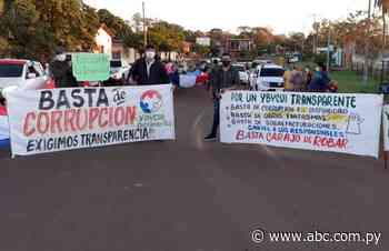 Ciudadanos exigen que terminen la corrupción e impunidad en Ybycuí - Política - ABC Color