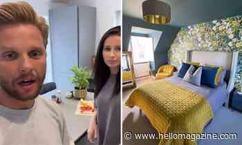 Jeff Brazier gives tour of newly-decorated room – and it's incredibly stylish