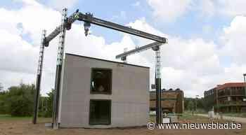 Wereldprimeur: eerste volwaardige 3D-geprinte huis is opgeleverd in Westerlo