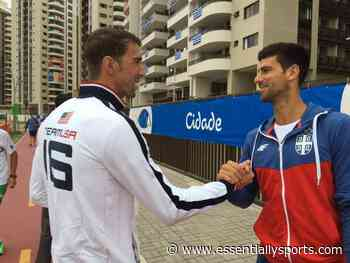 Throwback: Swimming Legend Michael Phelps Has a Fanboy Moment With Novak Djokovic - Essentially Sports
