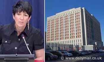 Ghislaine Maxwell moved from New Hampshire to New York jail