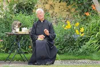 The Canterbury Tail: Cat steals vicar's milk during cathedral's online prayer service