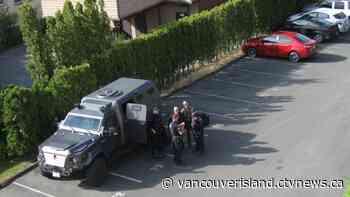 Police, ERT at scene of Victoria apartment building - CTV News