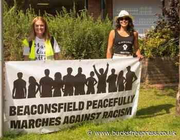 Black Lives Matter protest takes place in Beaconsfield - Buckinhamshire Free Press