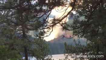 Spirit Lake fire burns 70 acres, crews continue to work toward containment - KXLY Spokane