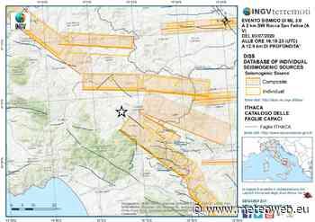 Terremoto Campania, sequenza sismica in provincia di Avellino: decine di scosse a pochi km dal sistema di ... - Meteo Web