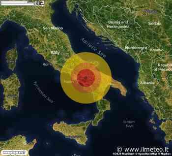 TERREMOTO in provincia di AVELLINO, in CAMPANIA, a Rocca San Felice. Magnitudo 2.9. Ecco QUI i DETTAGLI - iL Meteo