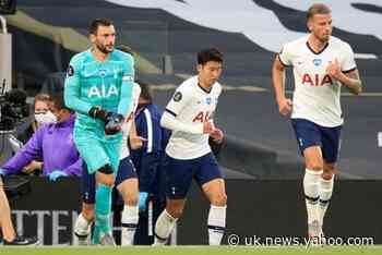 Tottenham 1-0 Everton: Hugo Lloris and Heung-min Son clash as Giovani Lo Celso's deflected strike seals win