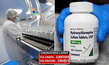 Coronavirus: Hydroxychloroquine trialled over better treatments